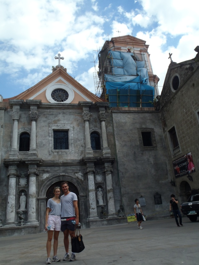 {San Agustin Church, Manila built in 1607}