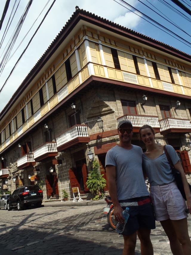 {Spanish House opposite San Agustin Church}