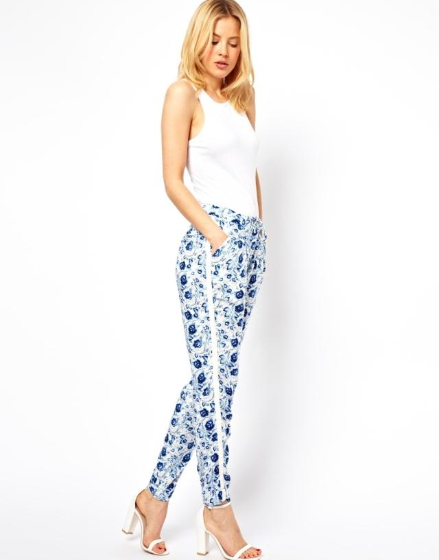 Asos blue pants